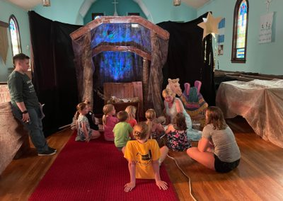 VBS Day 1 Bible Story