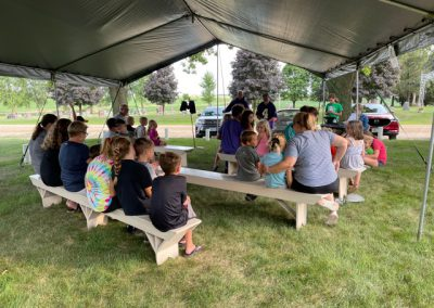 VBS Day 2 Opening